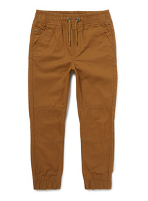Brown Ribbed Waist Trousers (3-14 years)