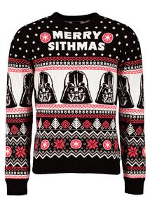 Star Wars Darth Vader Long-Sleeved Christmas Jumper