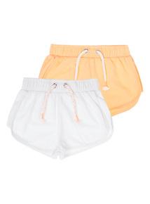 Neon Sweat Shorts 2 Pack (3 - 12 years)