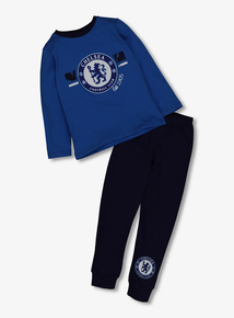 Online Exclusive Chelsea Football Club Blue Pyjamas (2-12 Years)