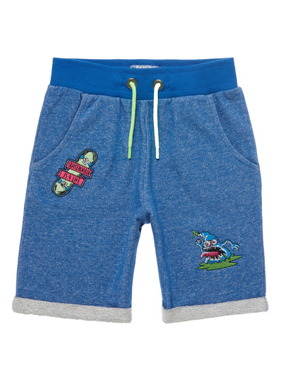 Blue Badge Denim Sweat Shorts (3 - 14 years)