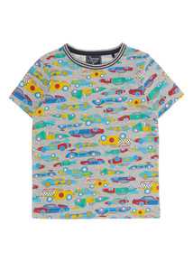 Boys Multicoloured Cars Tee (9 months - 6 years)