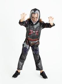 Dark Warrior Ninja Costume (3-12 years)