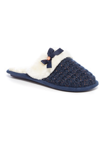 Yarn Knitted Mule Slipper