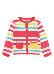 Multicoloured Havana Stripe Cardigan (9 months - 6 years)