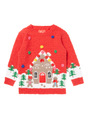 Thumbnail of SKU AW17 PH3 GINGERBREAD HOUSE JUMPER:Red