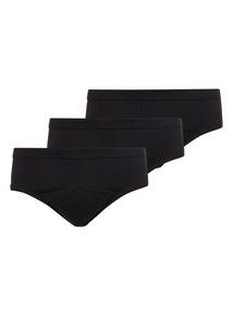 Black Classic Briefs 3 Pack