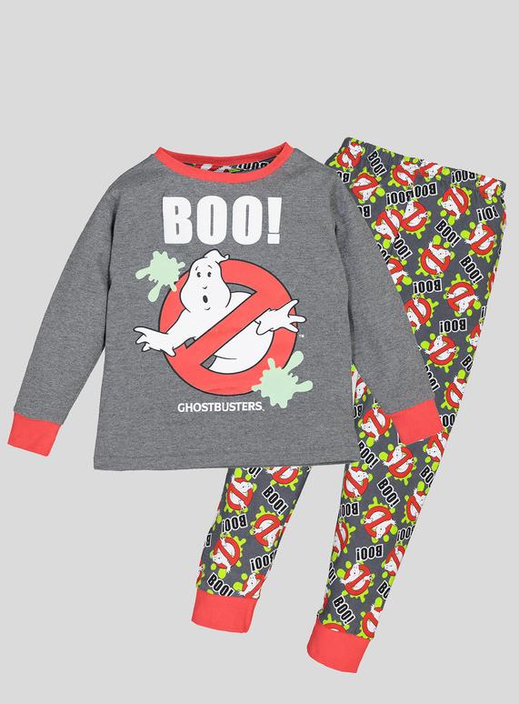 d3f5a5af Kids Halloween Ghostbusters Grey Pyjamas (2-12 years) | Tu clothing
