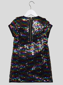 Multicoloured Sequin Dress (3-14 years)