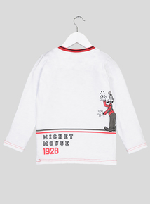 Disney Mickey Mouse & Friends White Top ( 9 months - 6 Years)