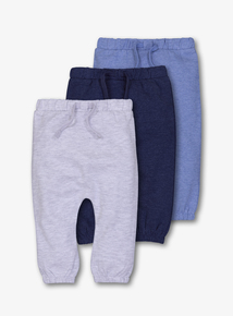 3 Pack Multi-coloured Joggers (0 - 24 months)