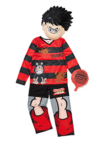 Boys Multicoloured Dennis the Menace Costume (3-12 years)