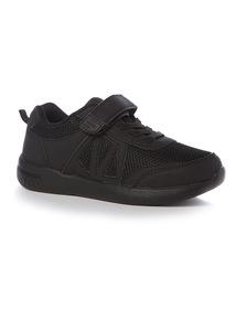 Black Velcro Trainer