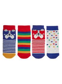 Dog Socks 4 Pack