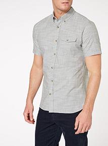 Khaki Chambray Shirt