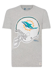 Grey NFL Dolphins Tee