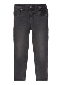 Black Washed Super Skinny Denim Jean (3-14 years)