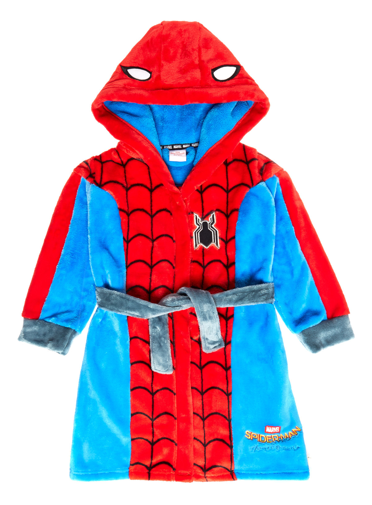 All Boy\'s Clothing Multicoloured Spiderman Dressing Gown (1-12 ...
