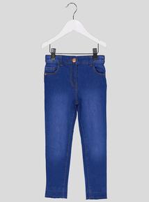 Blue Denim Skinny Jeans (3-14 Years)