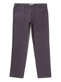 Navy Canvas Trousers