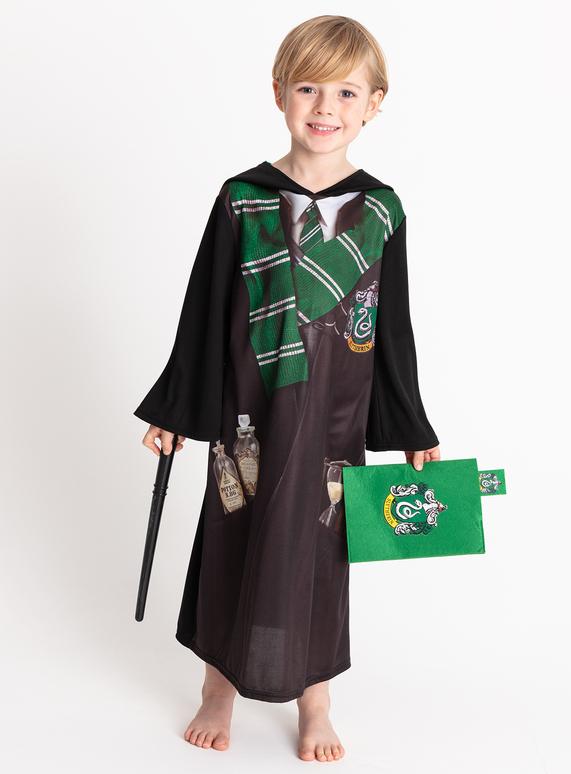Fancy Dress Harry Potter Black Slytherin Costume 3 12