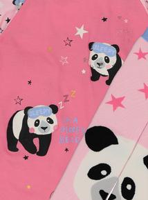 Pink Panda Nightie With Socks (3-12 years)