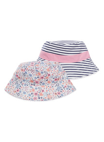 Bucket Hats 2 Pack (1 - 10 years)