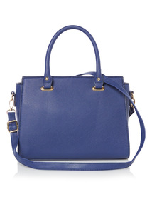 Blue Multi Compartment Bag