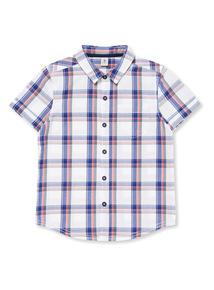 White Check Shirt (3-14 years)