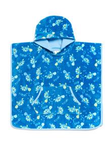Blue Turtle Poncho Towel