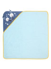Blue Monster Towel (0-24 months)