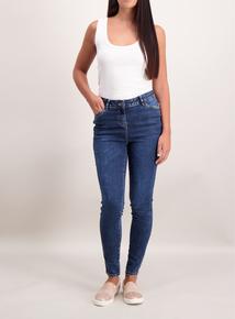 Denim Acid Wash Skinny Jeans