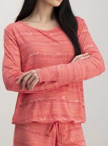 Coral Pink Pyjama Set
