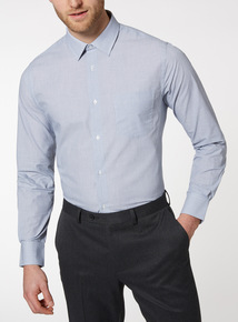 2 Pack Stripe Tailored Fit Shirts