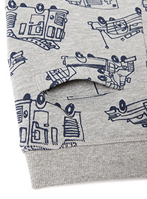 Grey Fire Engine Print Joggers (9 months-6 years)
