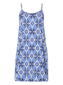 Sleeveless Plait Dress