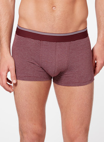 Red Stripe Hipster Briefs 3 Pack