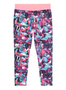 Multicoloured Patterned Leggings (5 - 14 years)