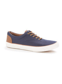 Canvas Lace Up Shoes