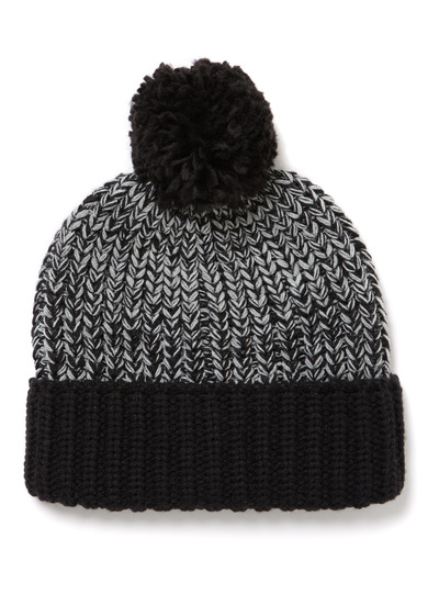 Grey Pom Pom Beanie Hat (1-16 years)