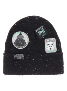 Black Disney Star Wars Beanie (3-12 years)