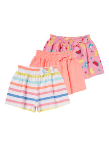 Jersey Shorts 3 Pack (9 months - 6 years)