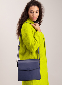 Blue Formal Cross Body Bag