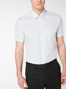 2 Pack Tailored Fit Checked Shirts