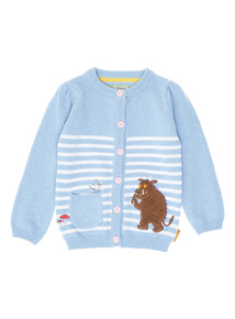 Blue Gruffalo Cotton Cardigan (9 months-6 years)