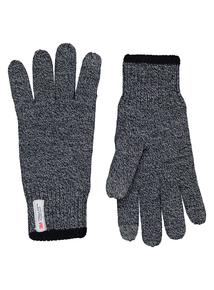 3M Thinsulate Grey Touch Screen Knitted Gloves
