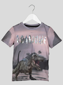 Roarsome Foil T-Shirt (3-14 Years)