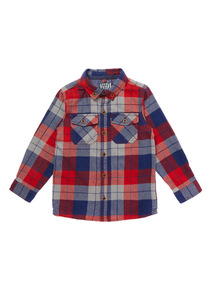 Red Check Shirt (9 Months - 6 Years)