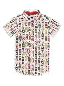 Multicoloured Skate Shirt (3 - 12 years)