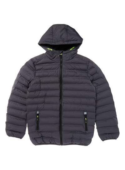 Grey Puffer Jacket (3-14 years)